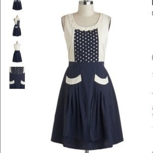 ModCloth Detail Ornamented Dress, size Medium
